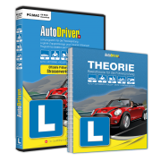 AutoDriver - Kat. B, A, A1, M, F, G (CD-ROM, Software inkl. App) + Buch