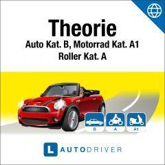Online: AutoDriver - Theorie Kat. B, A, A1 (dfi)