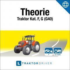 Online | TraktorDriver - Theorie Kat. F, G, G40 (dfi) + Theorie-Buch (d)